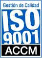 Calidad registrada ISO 9001 ACCM